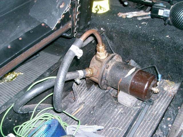 Elec fuel pump