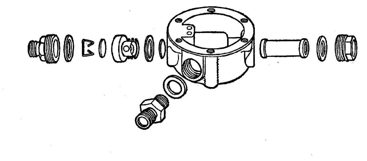 שיפוץ משאבת דלק חשמלית מתוצרת S.U - ד'.